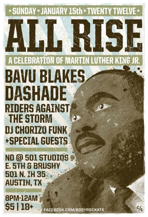 ALL RISE POSTER
