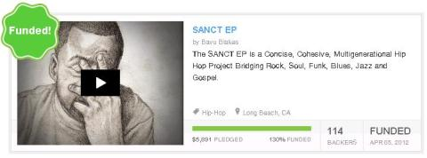 SANCT EP 130% FUNDED